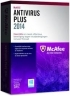 McAfee AntiVirus Plus 2014 (лицензия на 3 ПК, на 1 год)
